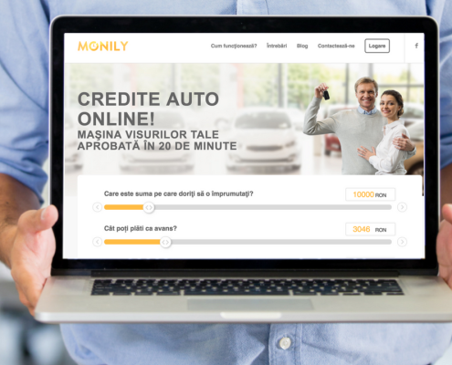 monily credit auto